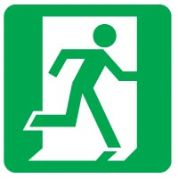 Safe Safety Sign - Exit Right 007